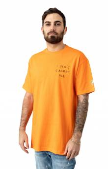 I Don't Carrot T-Shirt - Orange