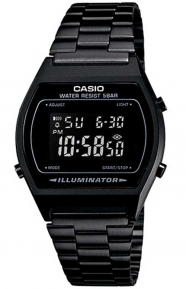 Casio Clothing, B640WB-1BVT Vintage Watch - Black
