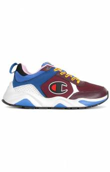 93 Eighteen Block Shoes - Maroon/Multi