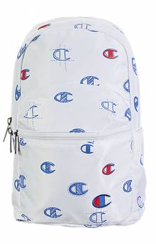 (CH1067 ) Mini Supercize Cross Over Backpack - White