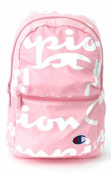 (CH1067) Mini Supercize Crossover Backpack - Pink/White