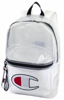 (CH1151) Supercize Clear Backpack - White