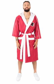 Boxing Robe - Red/White