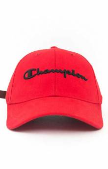 Classic Twill Hat - Scarlet