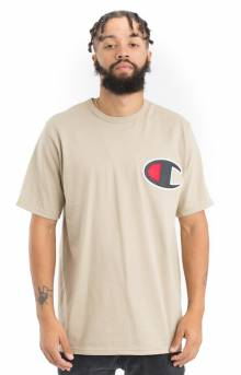 Heritage C Patch Applique T-Shirt - Khaki