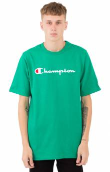 Heritage Script T-Shirt - Kelly Green