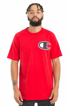 Large Logo Heritage T-Shirt - Team Red Scarlet
