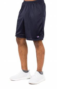 Pocket Mesh Shorts - Navy