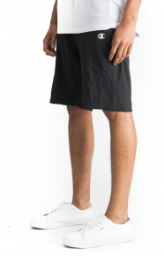 Reverse Weave French Terry Shorts - Black