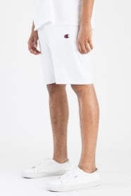Reverse Weave French Terry Shorts - White