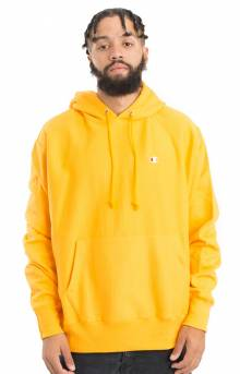 Reverse Weave Pullover Hoodie - C Gold