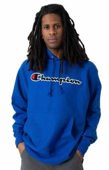 RW Chenille Script Pullover Hoodie - Surf The Web