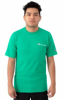 Script Logo Heritage T-Shirt - Kelly Green