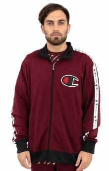 Track Jacket - Mulled Berry/Black