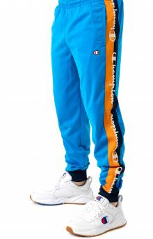 Tricot Track Pant w/ Champion Taping - Running Waves/Navy