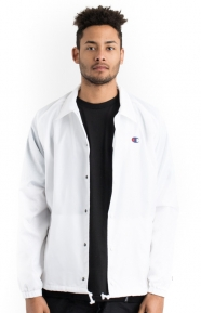 West Breaker Coaches Jacket - White