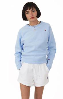 57a25b76a26 Champion LIFE Women s Garment Dyed RW Crewneck - Ocean Front Blue