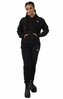 Champion LIFE Women's, Reverse Weave Pullover Hoodie - Black