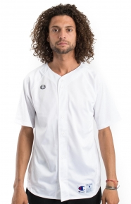 Prospect S/S Full Button Jersey - White