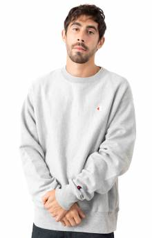 Champion, Reverse Weave Crewneck - Oxford Grey