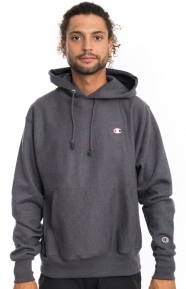 Reverse Weave Pullover Hoodie - Granite Heather