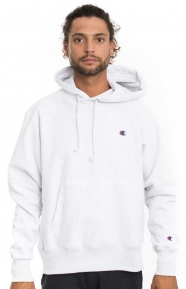 Champion Clothing, Reverse Weave Pullover Hoodie - Silver Grey