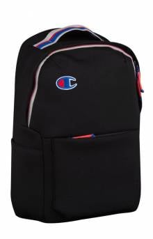 The Attribute Laptop Backpack - Black