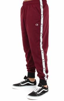 Track Pant - Mulled Berry/Black