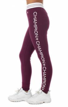Highwaist Tights - Dark Berry Purple