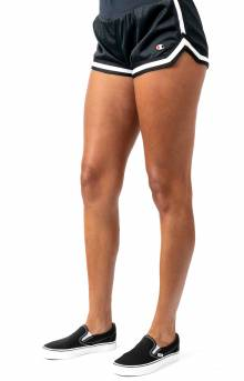 Mesh Notch Short - Black