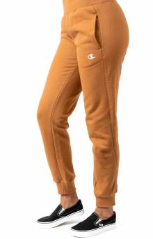 Reverse Weave Jogger - Brown Sepia