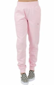 Reverse Weave Jogger - Pink Candy