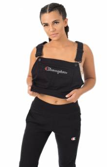 Superfleece Overall Bib Crop - Black