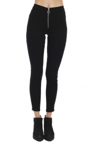 High Spray Pants - Front Black