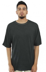 Cheap Monday Clothing, Icon Washed T-Shirt - Shadow Cold Dye