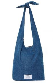 Knot Bag - Trashed Denim