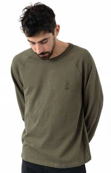 Rules 2 Sweater - Mud Green