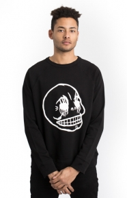 Cheap Monday Clothing, Rules Sweater - Black