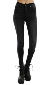 Cheap Monday Womens Clothing, High Spray Jeans - Cult Black