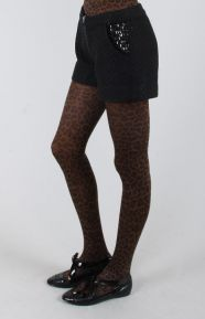 Chick With Guns Clothing, Bianca Boucle Shorts