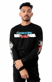 Angel Devil L/S Shirt - Black