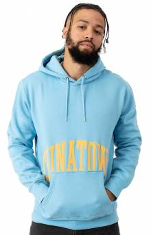Arc Pullover Hoodie - Blue