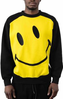 Big Smiley Crewneck - Black