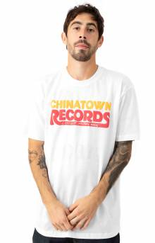 Chinatown Records T-Shirt - White