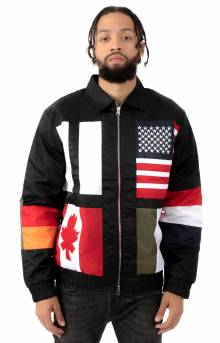 Flag Jacket - Black