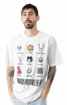 Modern Art T-Shirt - White