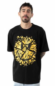 Smiley Glass T-Shirt - Black