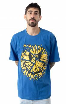 Smiley Glass T-Shirt - Blue