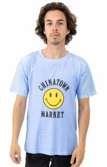Smiley Logo Color Change T-Shirt - Blue