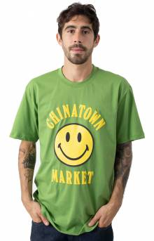 Smiley T-Shirt - Olive